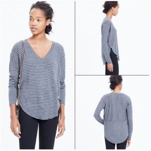 NWT Madewell Anthem Long Sleeve V Neck